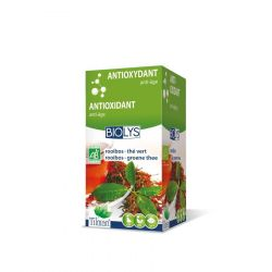 Biolys rooibos-thé vert infusion Infusettes 20 pièces