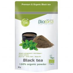 Biotona Black Tea thee Poeder 90g