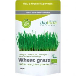 Biotona Wheat grass raw  Poeder 200g