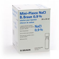 Braun Mini-plasco nacl 0,9% 20ml  Monodosis 20x20ml