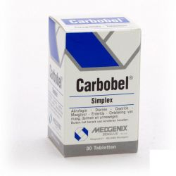 Carbobel Simplex Tabletten 30 stuks
