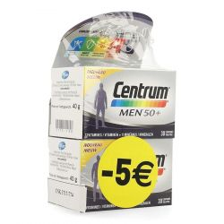 Centrum Men 50+ Promo Tabletten 2x30 stuks