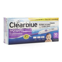 Clearblue Advanced test d'ovulation Promo -5€ 10 pièces
