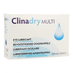 Clinadry multi lubrifiant oculaire Unidoses 20x0,5ml