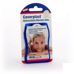 Coverplast Dots acné Patches 15 Stück