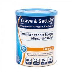 Crave & Satisfy mincir sans faim orange Poudre 200g