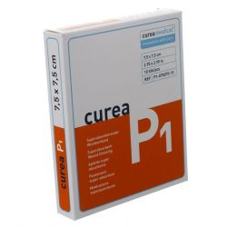 Curea P1 Superabsorberend 7,5x7,5cm 10 stuks