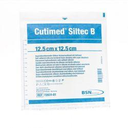 Cutimed siltec 12,5x12,5cm 1 pièces