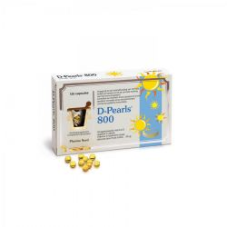 D-pearls 800 Pharma Nord Capsules 120 pièces