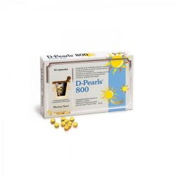 D-pearls 800 Pharma Nord Capsules 40 pièces