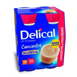 Delical Concentré hazelnoot Drankje 4x200ml