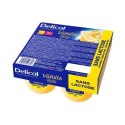 Delical Crème HP-HC Vanille Pudding 4x125g