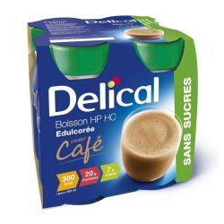 Delical HP - HC Kaffee ohne Zucker Getränk 4x200ml