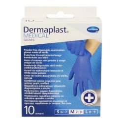 Dermaplast medical gants medium 10 pièces