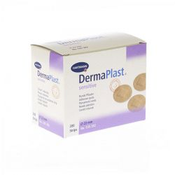 Dermaplast Sensitive Spots 22mm 200 stuks
