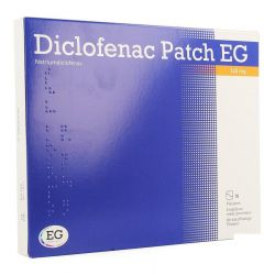 Diclofenac patch EG 140mg Patch 10 pièces