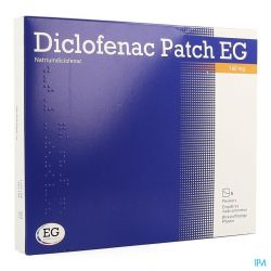 Diclofenac Patch EG 140mg Patch 5 pièces