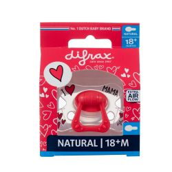 Difrax Natural sucette I love Mama +18M 1 pièces