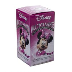 Disney Multivitaminen Minnie Gommen 60 stuks