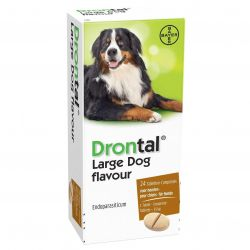 Drontal Large Dog Tasty Tabletten 24 Stück