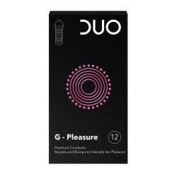 Duo G-pleasure condooms 12 stuks
