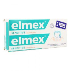 Elmex Sensitive duopack Tandpasta 2x75ml