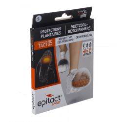 Epitact Sport protections plantaires small 2 pièces