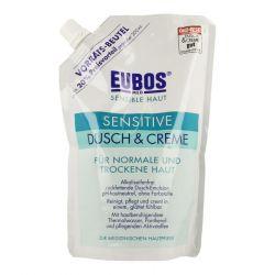Eubos sensible Haut Dusch & Creme Vorratsbeutel Creme 400ml