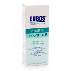 Eubos Sensitive douche olie F Doucheolie 200ml