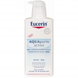 Eucerin Aquaporin Active verfrissende bodymilk pomp Lotion 400ml