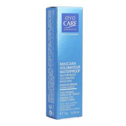 Eye Care volumiserende mascara waterproof blauw 11gr
