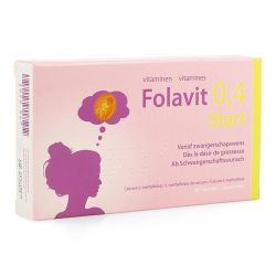 Folavit 0,4mg Start Tabletten 90 stuks