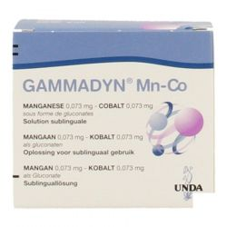Gammadyn Mn-Co ampoules Ampoules 30x2ml
