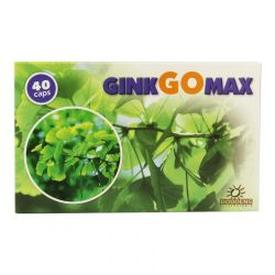 GinkGomax Capsules 40 pièces
