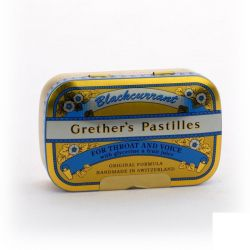 Grether's pastilles Blackcurrant Zuigtabletten 110g