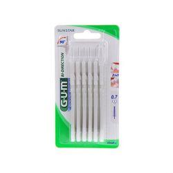 Gum Proxabrush Bi-Direction micro 0,7mm 6 stuks