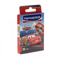 Hansaplast Junior Cars strips 16 stuks