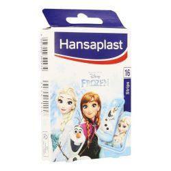 Hansaplast la reine des neiges junior strips 16 pièces
