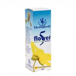 Healing Herbs 5 flower remedy Druppels 30ml
