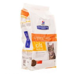 Hills prescription c/d chat Croquettes sèches 10kg