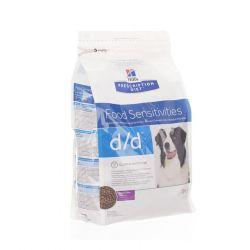 Hills Prescription D/D hond eend & rijst Zakje 2kg