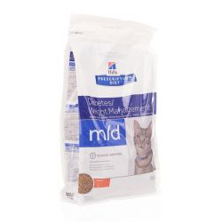 Hills prescription diet m/d chat Sachet 1,5kg