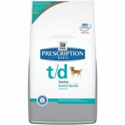 Hills Prescription Diet T/D Hund Trockenfutter 10kg