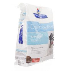 Hills prescription hond Derm Defence Skin Care Droge brokjes 12kg