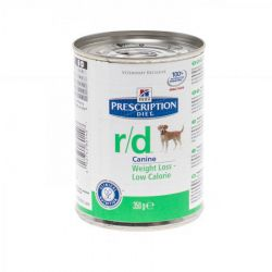 Hills Prescription R/D hond        Blikvoeding 350g