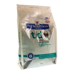 Hills Prescription T/D Katze        Tüte 1.5kg