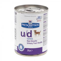 Hills Prescription U/D hond        Blikvoeding 370g