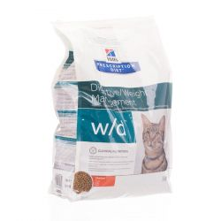 Hills prescription w/d chat Croquettes sèches 5kg