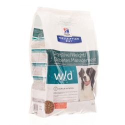 Hills Prescription w/d chien poulet Sachet 4kg