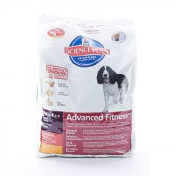 Hills Science Advanced fitness adult hond Zakje 12kg
